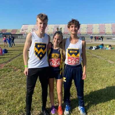 Three qualify for cross-country States