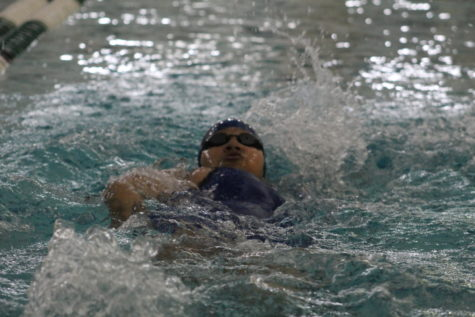Swim Fighting for League Title